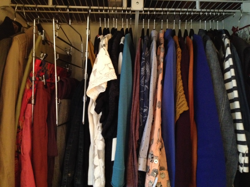 Closet Close Up