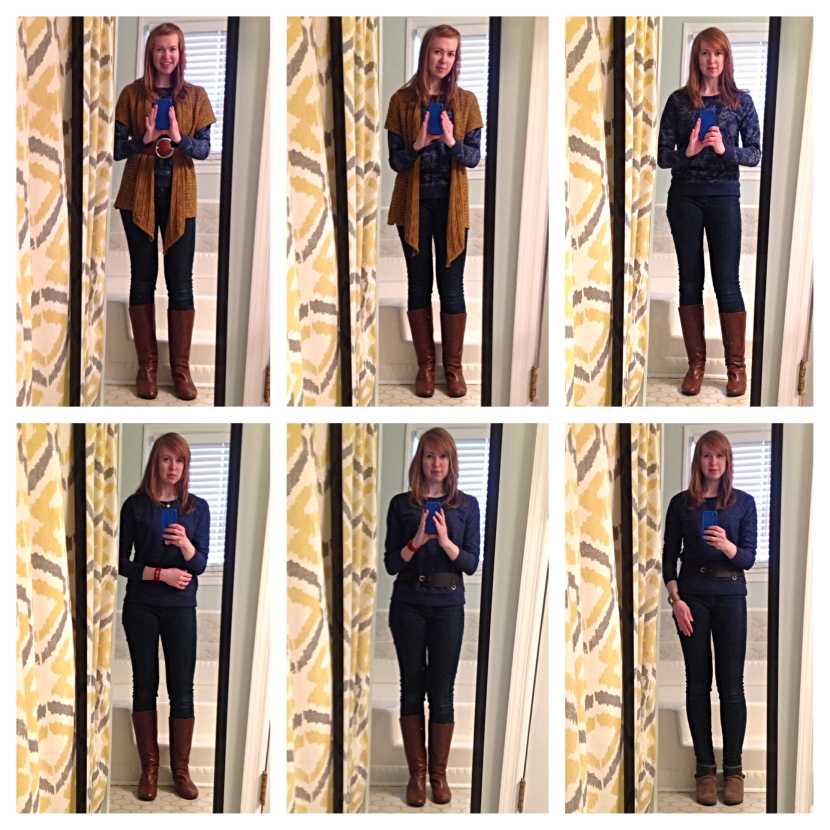 One Sweatshirt, Six Ways