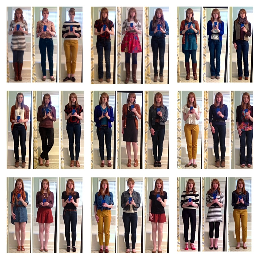 Hark at Home: Spring 2014 Capsule Wardrobe
