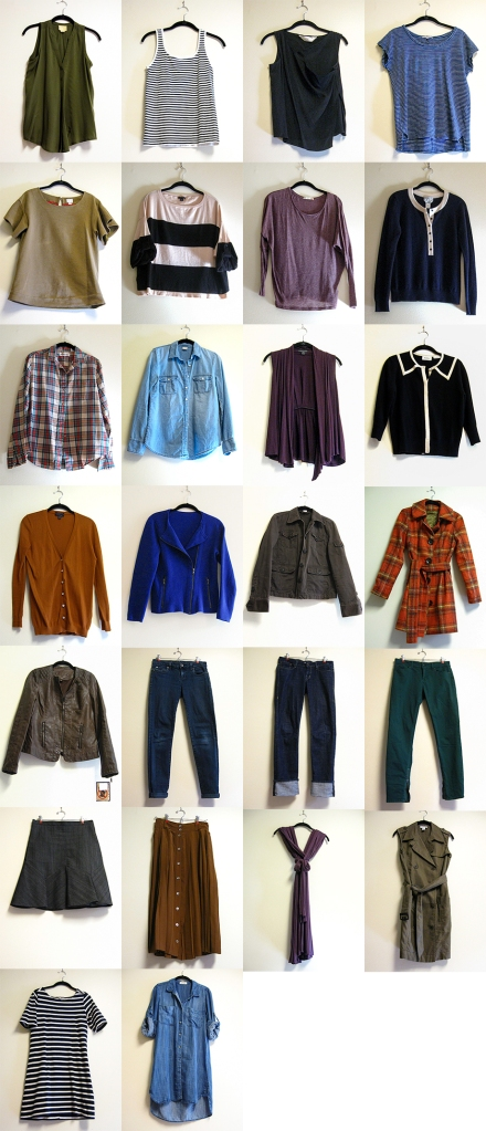 Hark at Home - Fall 2014 Capsule Wardrobe